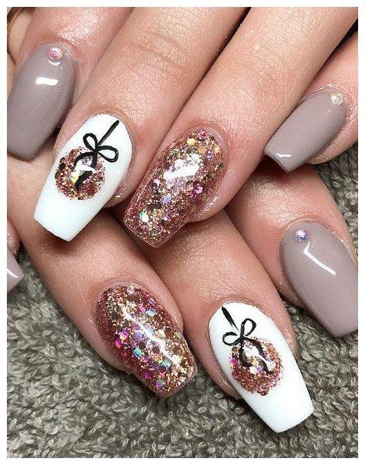 30 catchy matte nail art design ideas 00059 | Armaweb07.com | Cute .