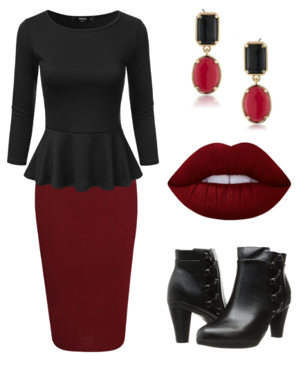 Plus Size Outfit Ideas for Holiday/Christmas Office Parties | Work .