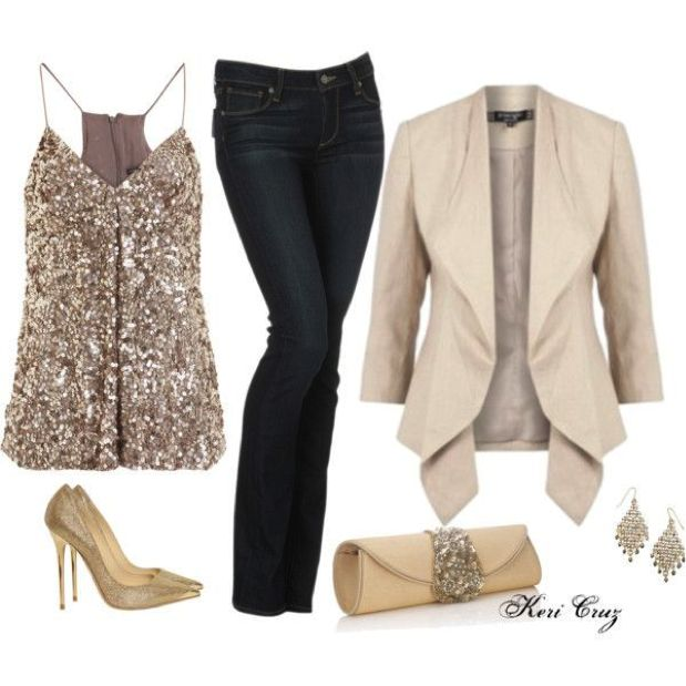 15 Chic office Christmas Party Outfit Ideas - Page 8 of 16 .