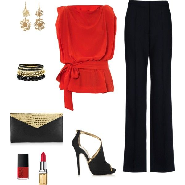 """Christmas office party outfit"""" 