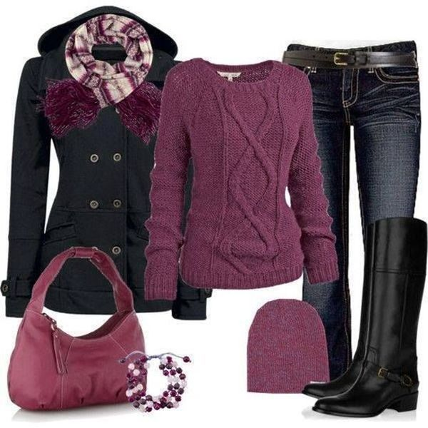 10 Cold Weather Style Outfit Collections | Fashion, Winter .