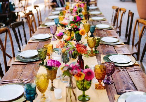 75 Colorful Wedding Ideas That'll Make Your Big Day Pop in 2020 .