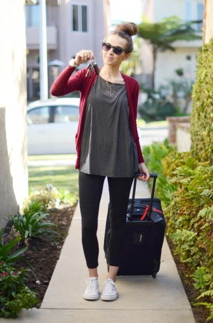 Travel Outfit Ideas For Women 2020 | FashionTasty.c