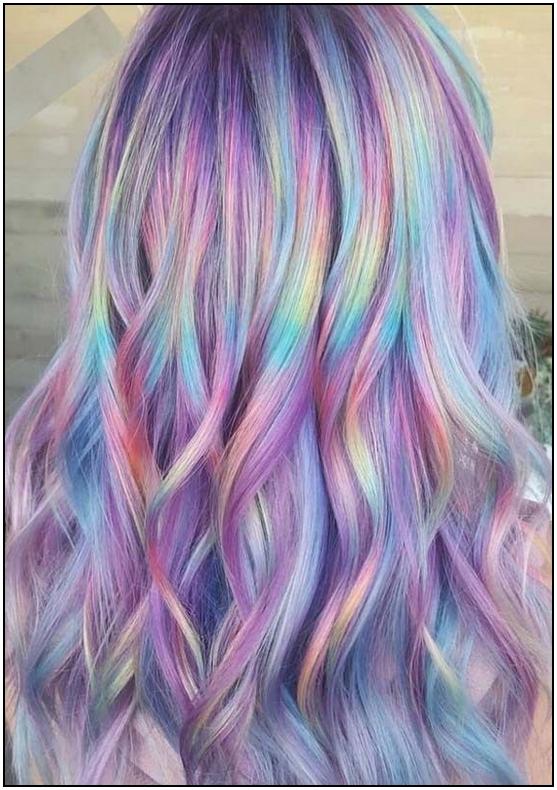 115 cool rainbow hair color ideas for festival goers 13 .