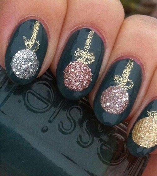 Christmas Nails - 15 Festive Nail Designs For Inspiration | Salon Ir