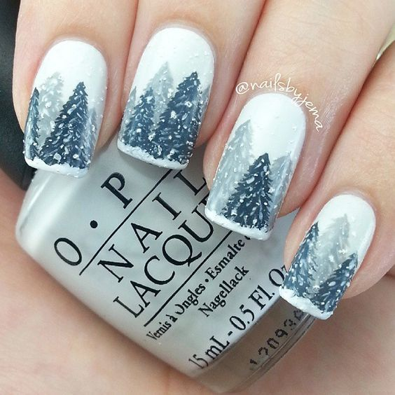 40+ Best Christmas Nail Designs Ideas Koees Blog | Simple nails .