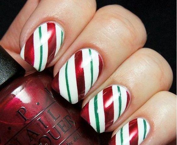 15 Best Christmas Nail Inspiration | Christmas nail art designs .