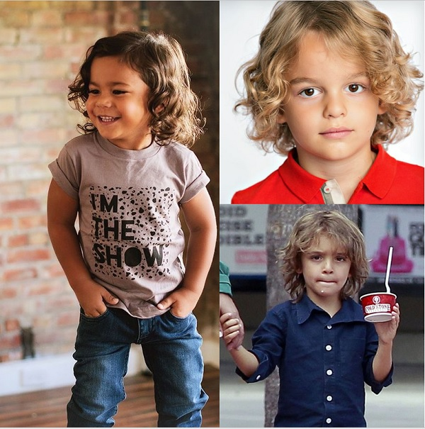 25 Buoyant Hairstyles for Little Boys with Long Hair | Boys long .