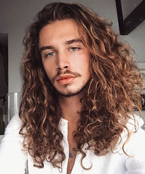 39 Best Curly Hairstyles & Haircuts For Men (2020 Styles) | Long .