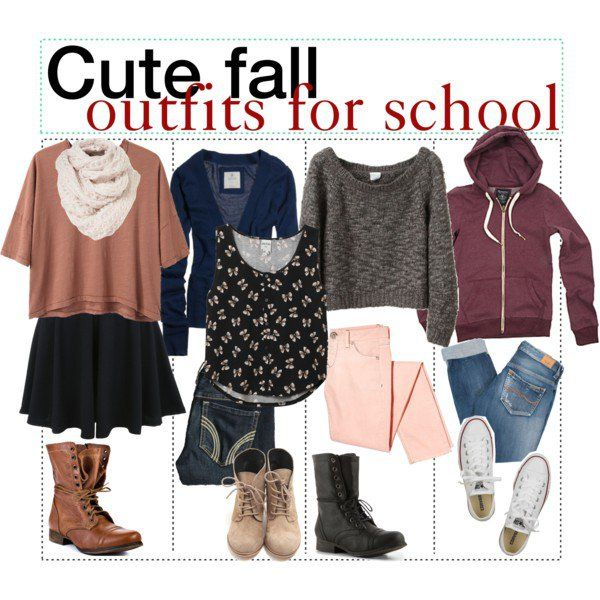 Fall Outfits for School | Cute fall outfits, Cute outfits, Outfits .