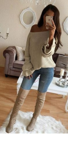 Cute Fall Outfit Ideas 2018 - Miladies.n