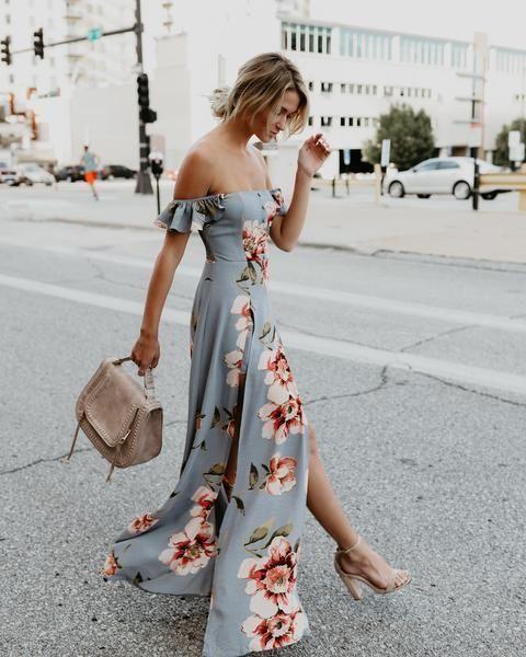 Summer street style cute outfit ideas dress #fashion   Wedding .