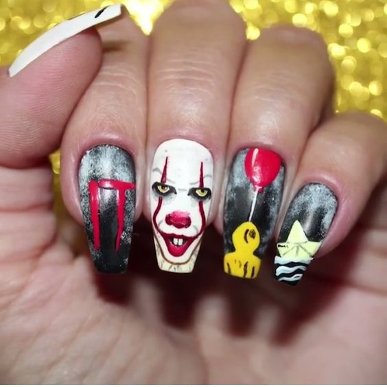 30 Easy Halloween nail art ideas to copy now - juelzjo