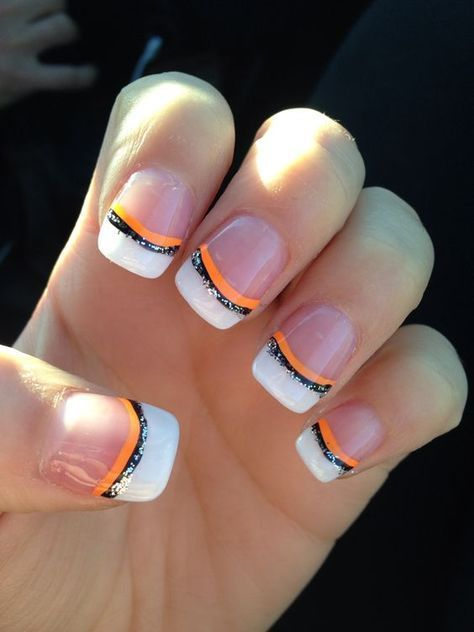 Easy Halloween Nail Art Ideas for Teens | Cute halloween nails .
