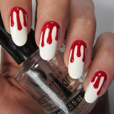 28 Halloween Nail Art Ideas — Cute Halloween Nail Designs | Allu