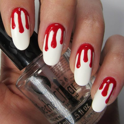 28 Halloween Nail Art Ideas — Cute Halloween Nail Designs | Allu