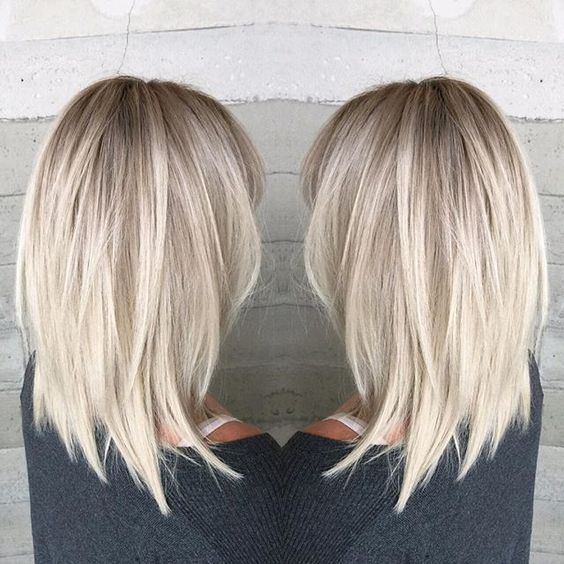 21+ Cute Medium Length Haircuts for Women | Medium hair styles .