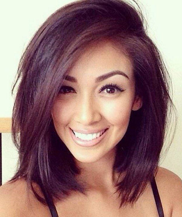 25 Super Cute Medium Haircuts | Hair | Hair lengths, Hair styles, Ha
