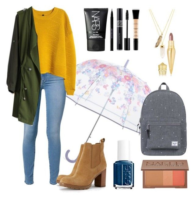 Rainy Days - Back To School Outfit #7 | Cute rainy day outfits .