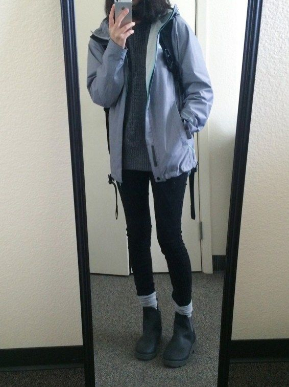 64 Rainy Day Cold Weather Outfit • DressFitMe | Cold weather .