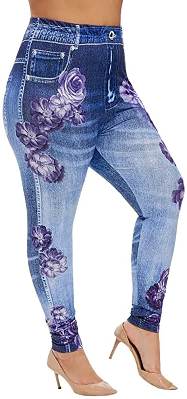 MoonHome Women's Destroyed Ripped Distressed Skinny Jeans High .