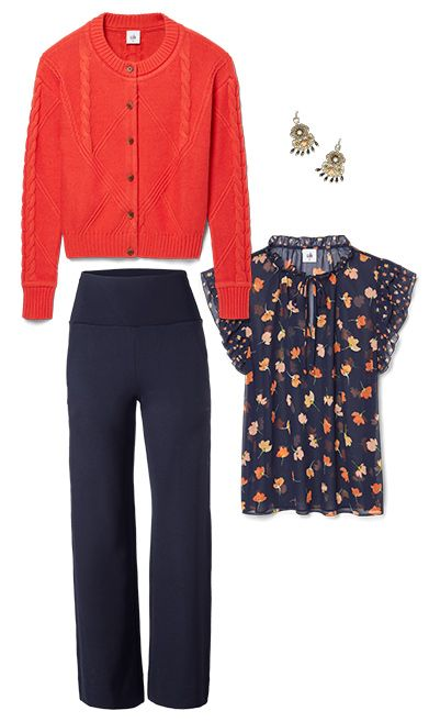 100 Cute Fall Outfits Ideas | cabi Clothing | Cute spring outfits .