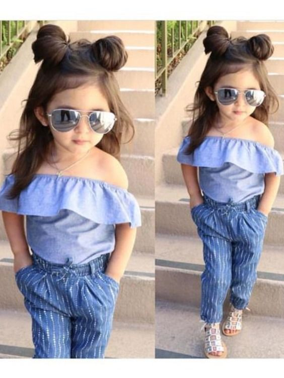 Cute Baby Girls Style | Cute little girls outfits, Dresses kids .