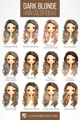 60 Fantastic Dark Blonde Hair Color Ideas | LoveHairStyles.c
