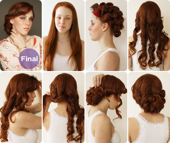 17 Vintage Hairstyles With Tutorials for You to Try - Pretty .