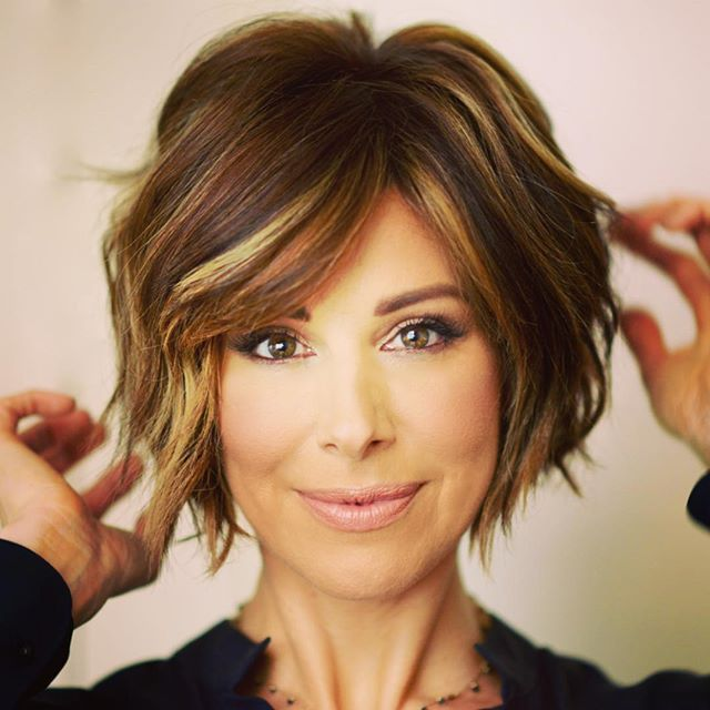 Dominique Sachse | Schonheit.info | Short bob hairstyles, Bob .