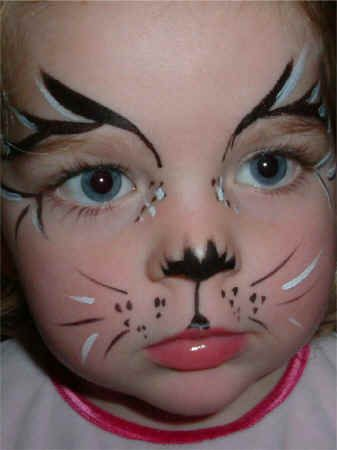 Kitty Cat Face Painting Ideas | All Face Painting, Body Painting .