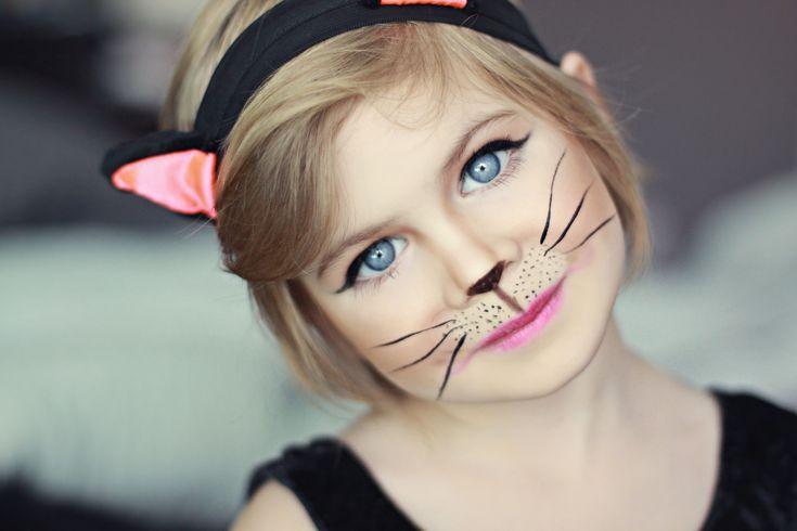 22 Easy Cat Face Paint Design - #Cat #Design #easy #face #Paint .