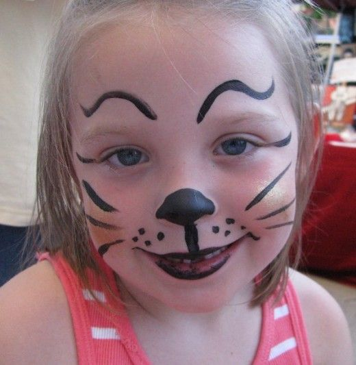 Cat Face Painting for Children: Designs, Tips, and Tutorials .