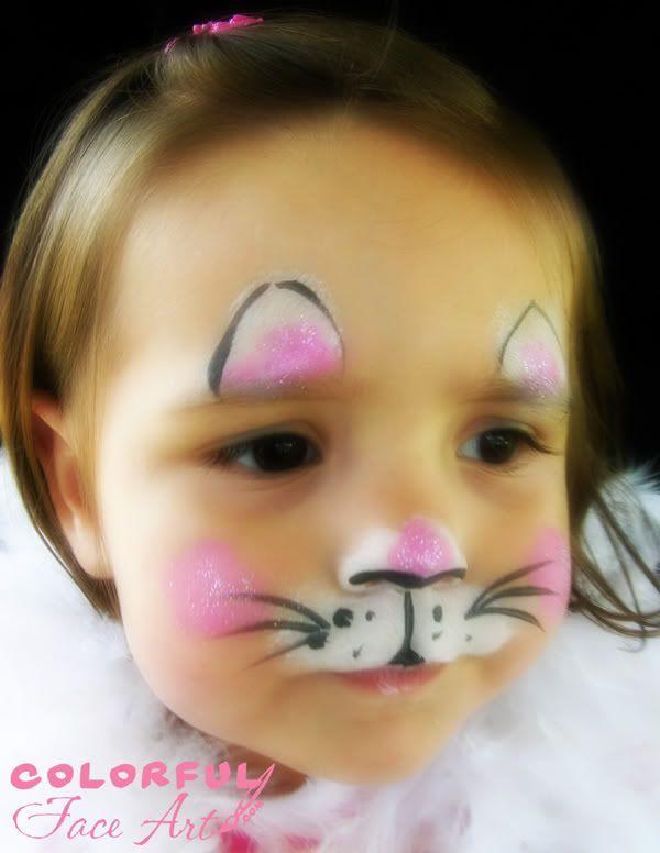 Easy Cat Face Paint Design – fashiontur.com in 2020 | Face .