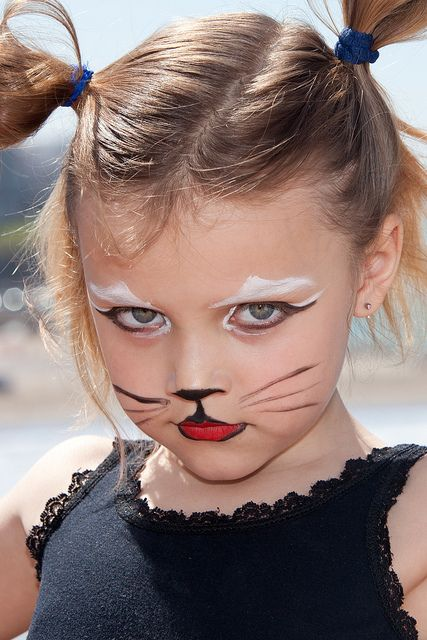 kitty cat | Face painting halloween, Face painting easy, Kitty .