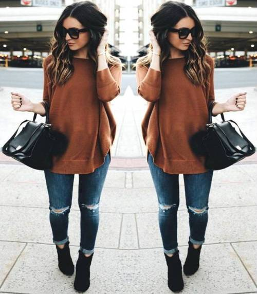 Easy weekend fall outfits | | Just Trendy Gir