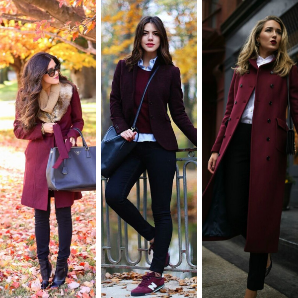 47+ Stylish Burgundy Pieces Of Autumn Clothing You Must Check Out .