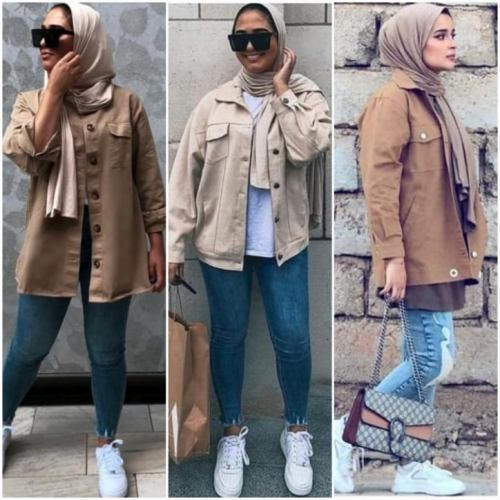 Inspiration easy hijab autumn outfit ideas | | Just Trendy Gir