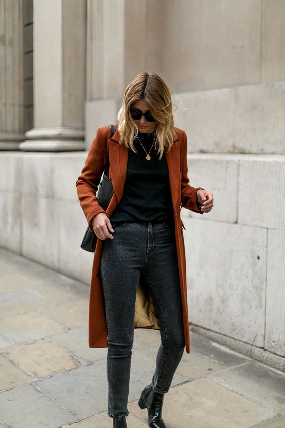 16 Chic and Easy Fall Outfit Ideas | Fall fashion coats, Chic .