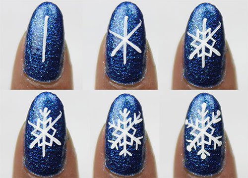 15 + Easy Step By Step Winter Nail Art Tutorials For Beginners .