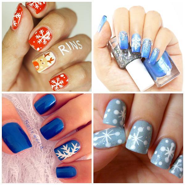 36 Wonderful Christmas nail art Desig