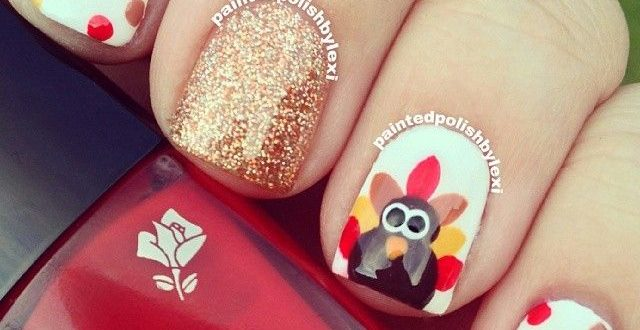 Do It Yourself Thanksgiving Nail A