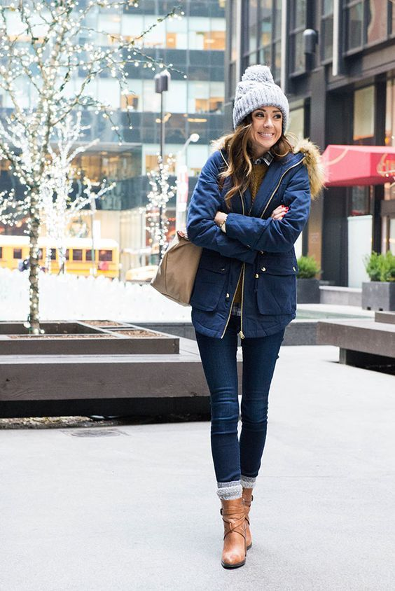 20 Easy Winter Outfits You Will Try … | Winter fashion outfits .