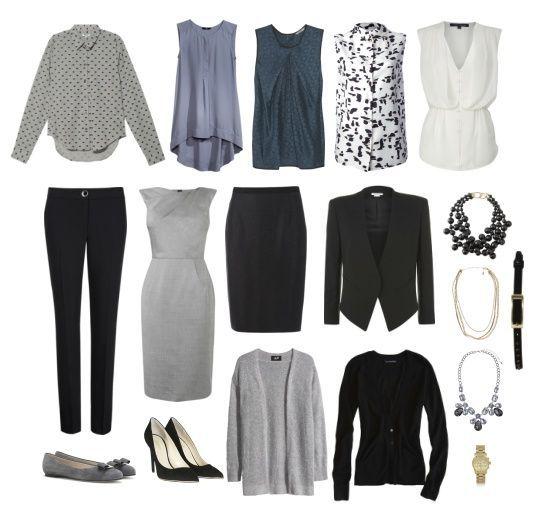 Essentials to Build for Work – fashiontur.com in 2020 | Capsule .