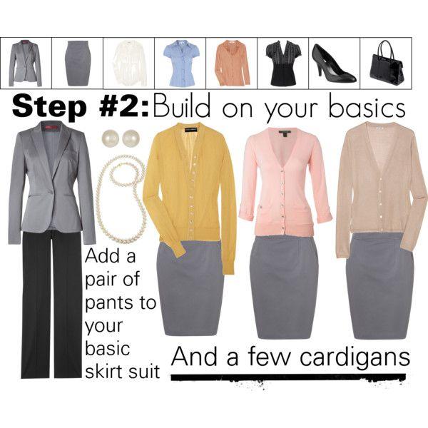 Work Wardrobe: Step 2 | Fashion infographic, Work wardrobe .