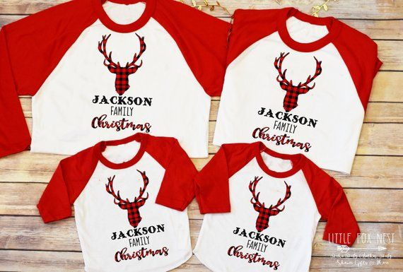 Buffalo Plaid Christmas Shirt, Christmas Shirt, Matching Family .