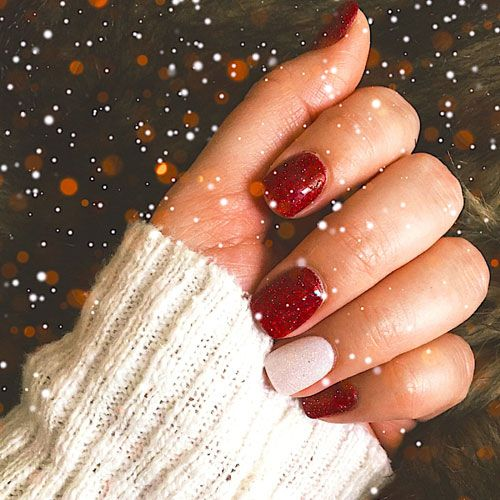 51 Festive Christmas Nail Art Ideas: Holiday Nail Designs (2020 .
