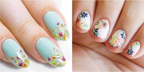 25 Flower Nail Art Design Ideas - Easy Floral Manicures for Spring .