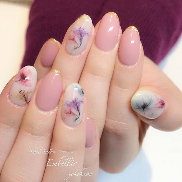 Stunning Summer Floral Nail Art Designs Ideas For Classy Teens To .