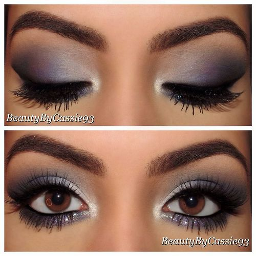Be Beautiful Angels | Prom makeup for brown eyes, Eye makeup, Grey .